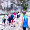 Zhvillimi i Turizmit të Aventurës, studentët amerikanë vizitojnë kanionet e Osumit.